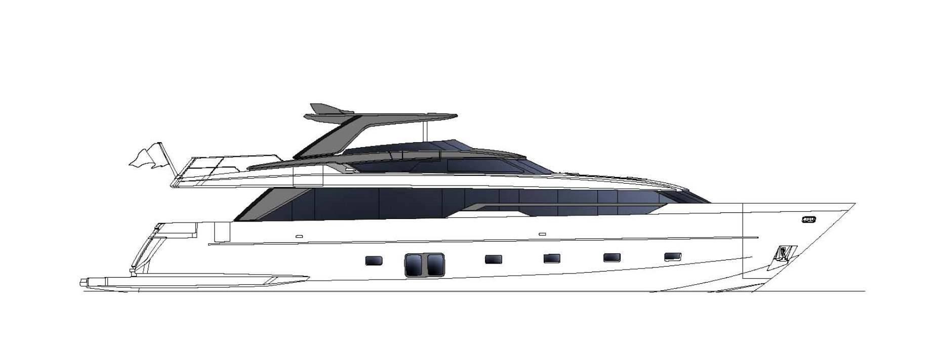 Sanlorenzo Yachts SL96 Asymmetric Perfil